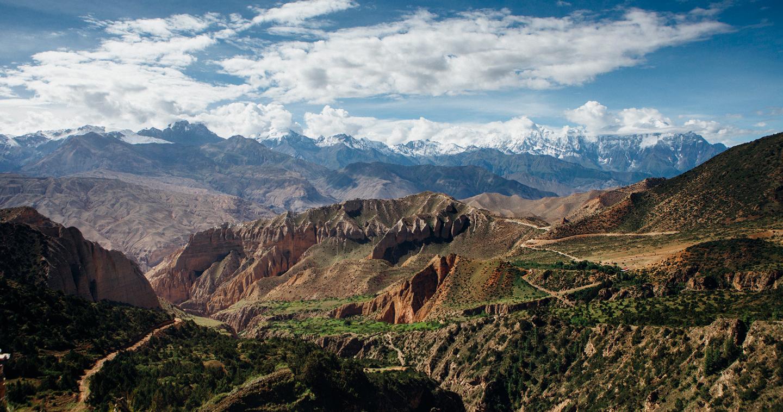 Stunning views from the village of Samar. Photo by Shikhar Bhattarai