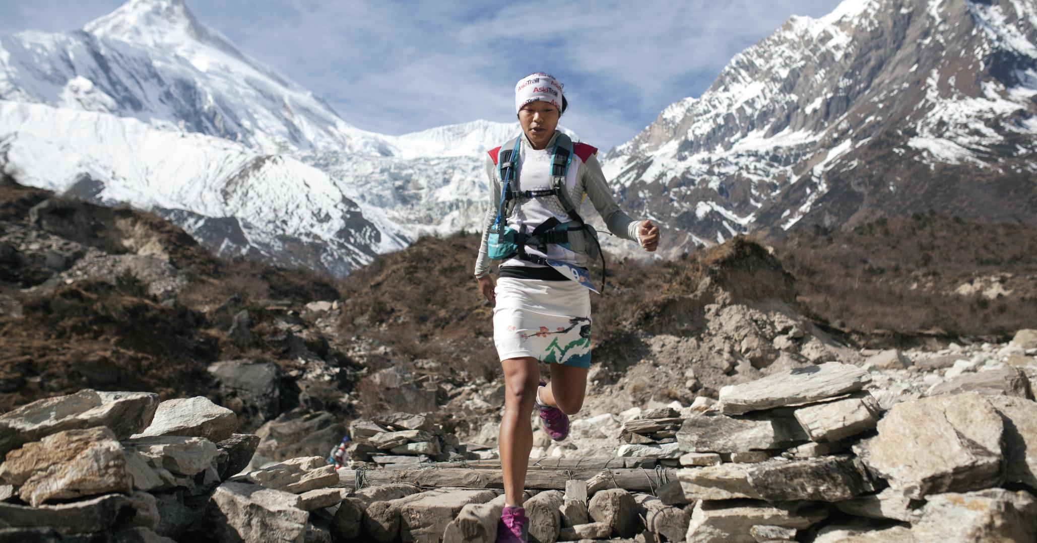 Mira Rai trail running Nepal